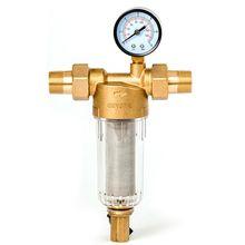 """Filter Bastion 112 3/4"""" sa manometrom za hladnu vodu.  32671 Linijski filteri"""