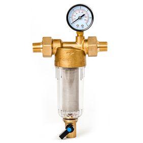 """Filter Bastion 112 1/2"""" sa manometrom za hladnu vodu sa mogućnošću direktnog ispiranja (d60).  32670  Filteri za domaćinstvo"""